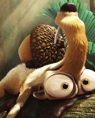 Scrat from Ice Age Dawn Of The Dinosaurs - Fondos de pantalla gratis para Nokia Asha 311