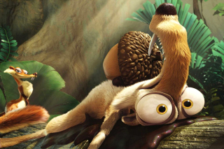 Scrat from Ice Age Dawn Of The Dinosaurs Background for Android, iPhone and iPad