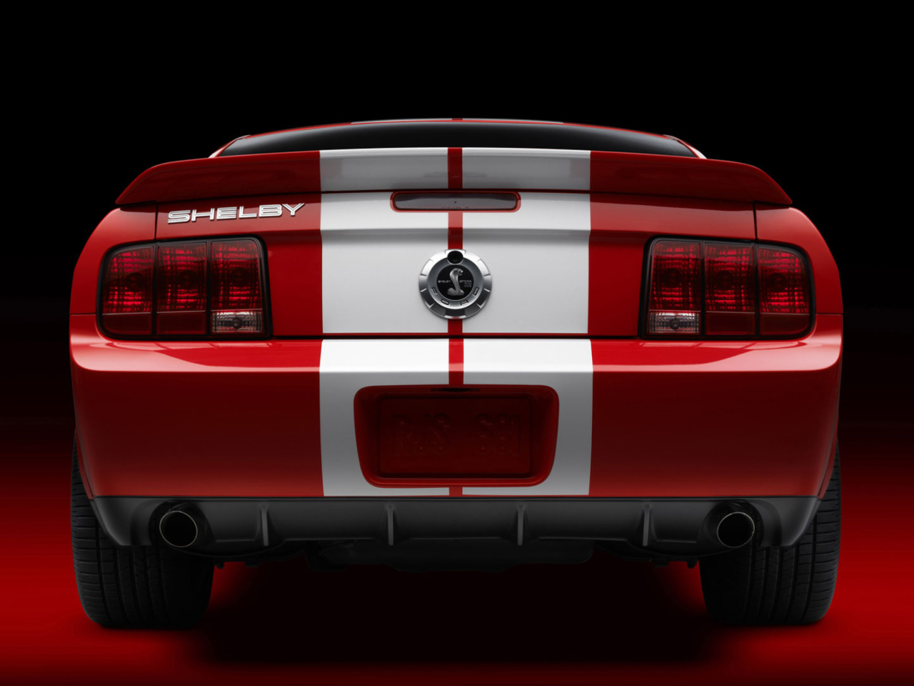 Das Ford Mustang Shelby GT500 Wallpaper 1280x960