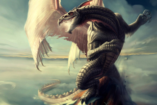 Free Fantasy Dragon Art Picture for Android, iPhone and iPad