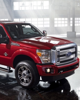 Ford Super Duty F 350 Background for Nokia Asha 311