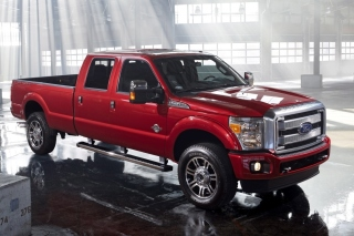 Ford Super Duty F 350 Background for Android, iPhone and iPad