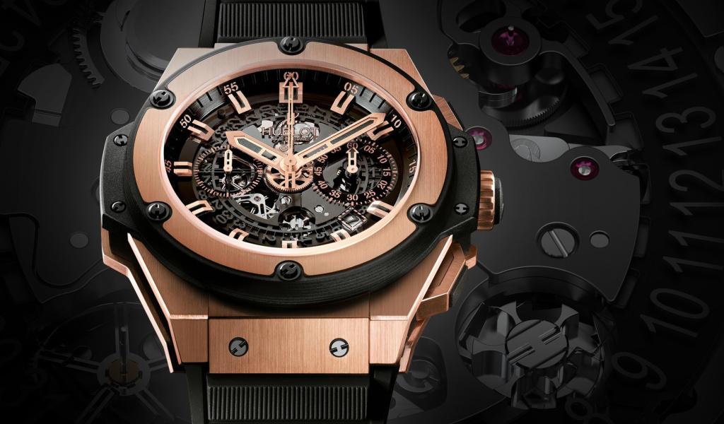 Screenshot №1 pro téma Hublot Watch 1024x600
