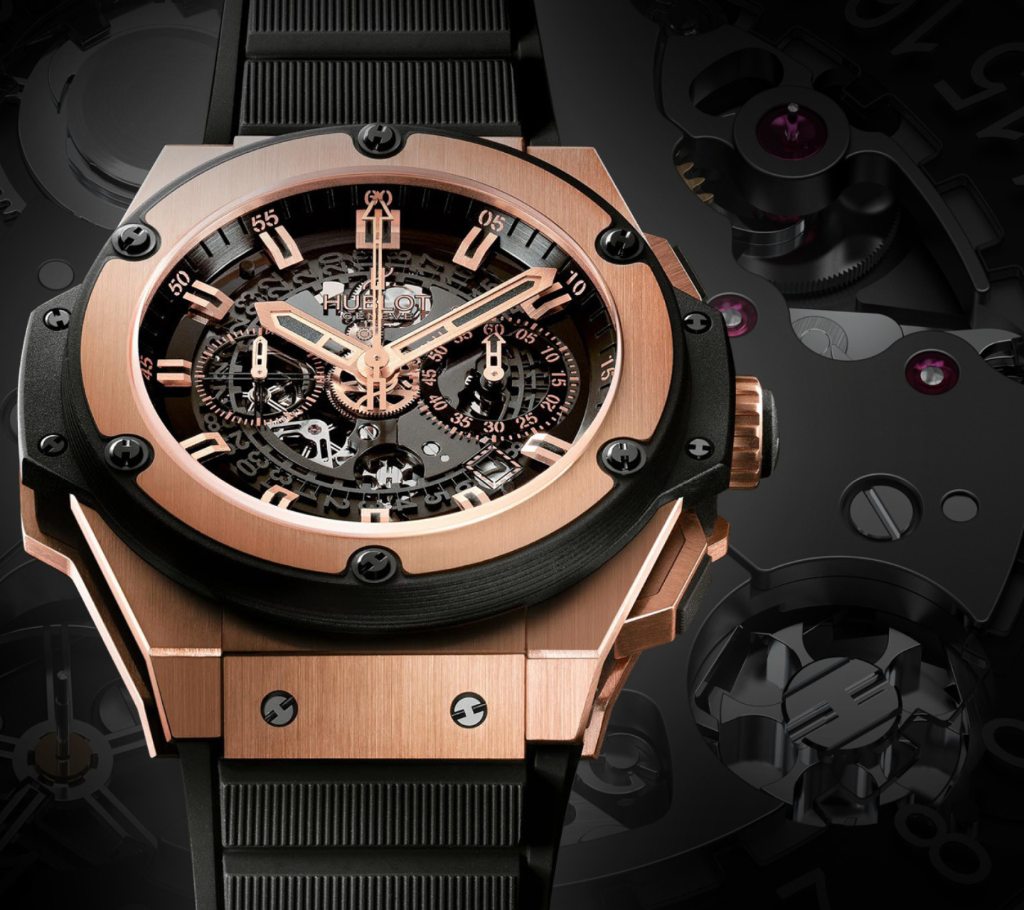 Screenshot №1 pro téma Hublot Watch 1440x1280