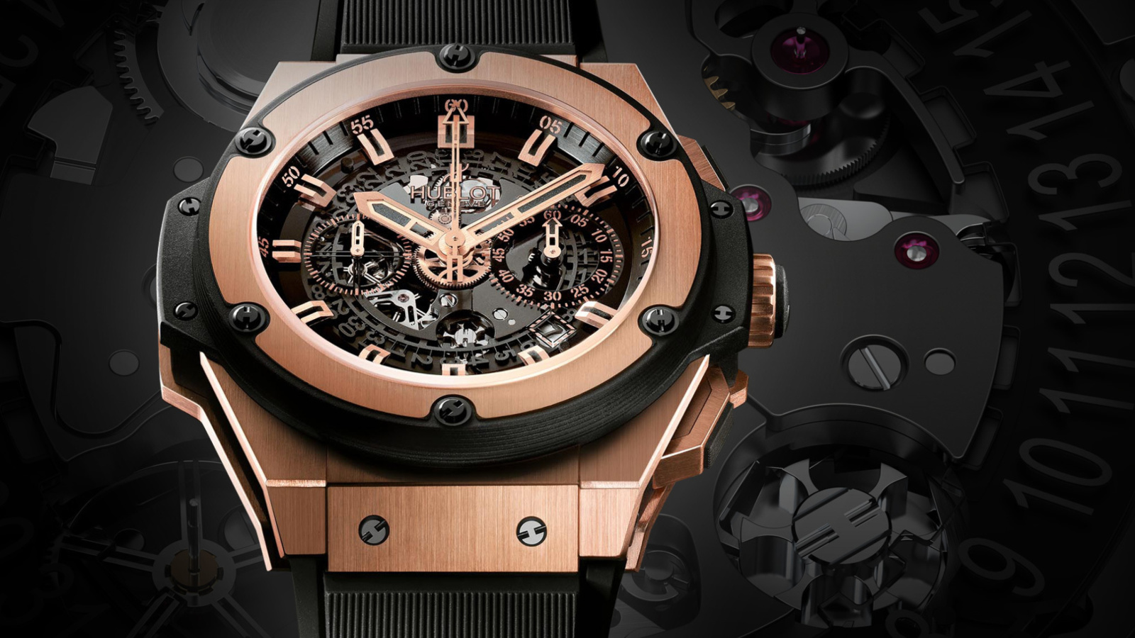 Screenshot №1 pro téma Hublot Watch 1600x900