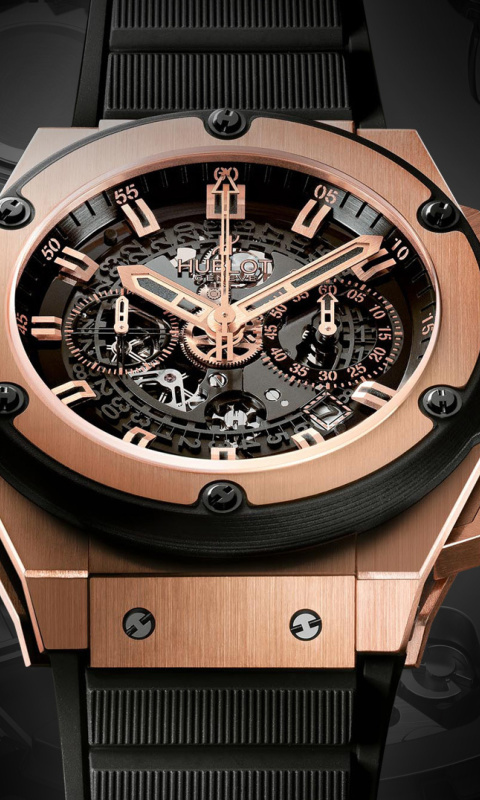 Screenshot №1 pro téma Hublot Watch 480x800