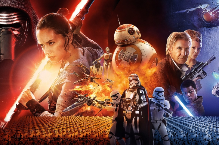 Screenshot №1 pro téma Star wars the Awakening forces Poster