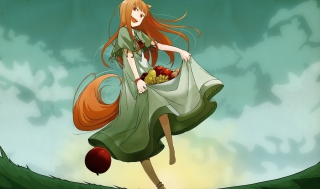 Spice and Wolf sfondi gratuiti per cellulari Android, iPhone, iPad e desktop