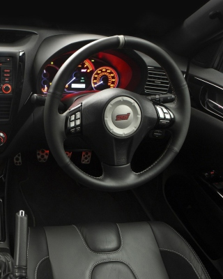 Impreza STI Interior Background for HTC Titan