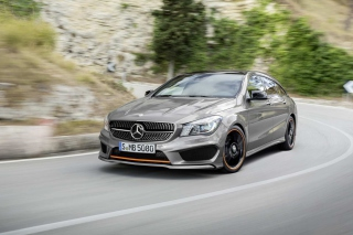 Free Mercedes Benz CLA 4MATIC Picture for Android, iPhone and iPad