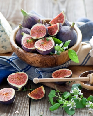 Still Life With Fig Picture for 768x1280
