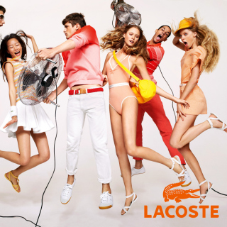 Lacoste Advertising Picture for LG KP105