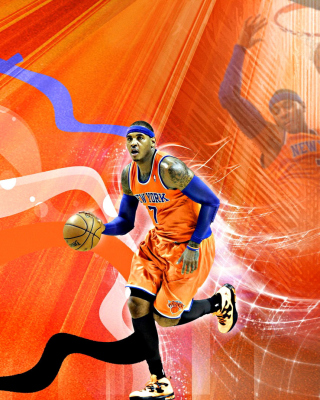 Free Carmelo Anthony NBA Player Picture for 320x480