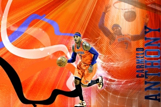 Carmelo Anthony NBA Player Background for Android, iPhone and iPad