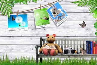 Clipart with Photos papel de parede para celular para Widescreen Desktop PC 1440x900
