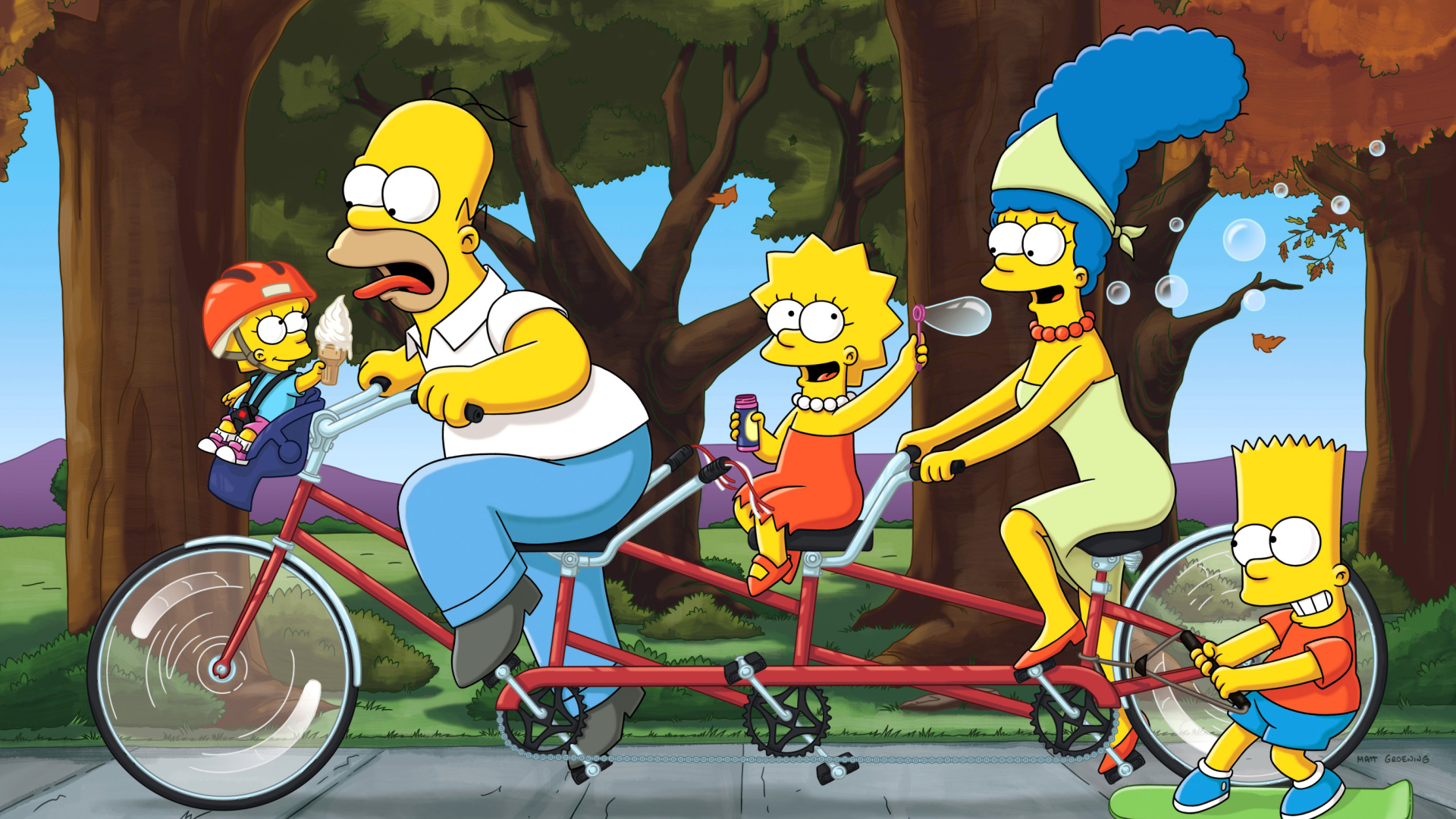 an analysis of american family life in 19990s in the simpsons The simpsons are far more nuanced characters than those played by actual humans on most sitcoms their springfield is a well-defined landscape populated by the likes of apu over at the kwik-e-mart.