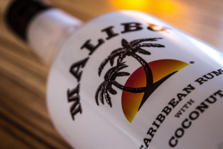 Malibu Bottle Wallpaper for Android, iPhone and iPad
