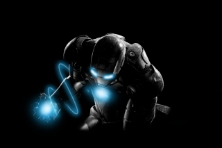 Mysterious Iron Man Wallpaper for Android, iPhone and iPad