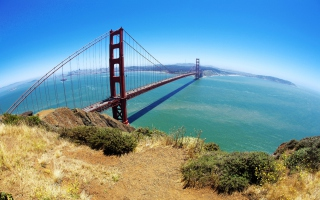 Free Golden Gate Bridge Picture for 480x400
