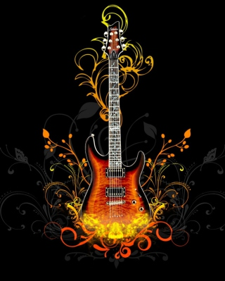 Guitar Abstract - Fondos de pantalla gratis para Nokia X1-01