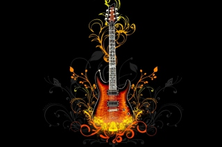 Guitar Abstract - Fondos de pantalla gratis para Desktop 1280x720 HDTV