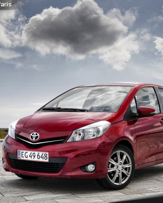 Toyota Yaris 2012 Wallpaper for 240x400