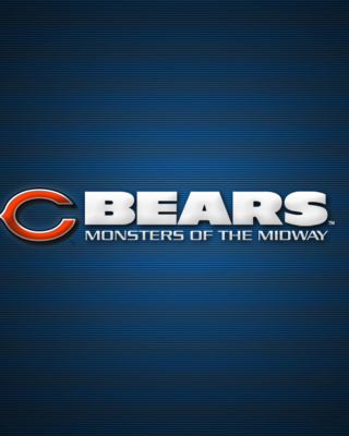 Chicago Bears NFL League Wallpaper for 640x1136