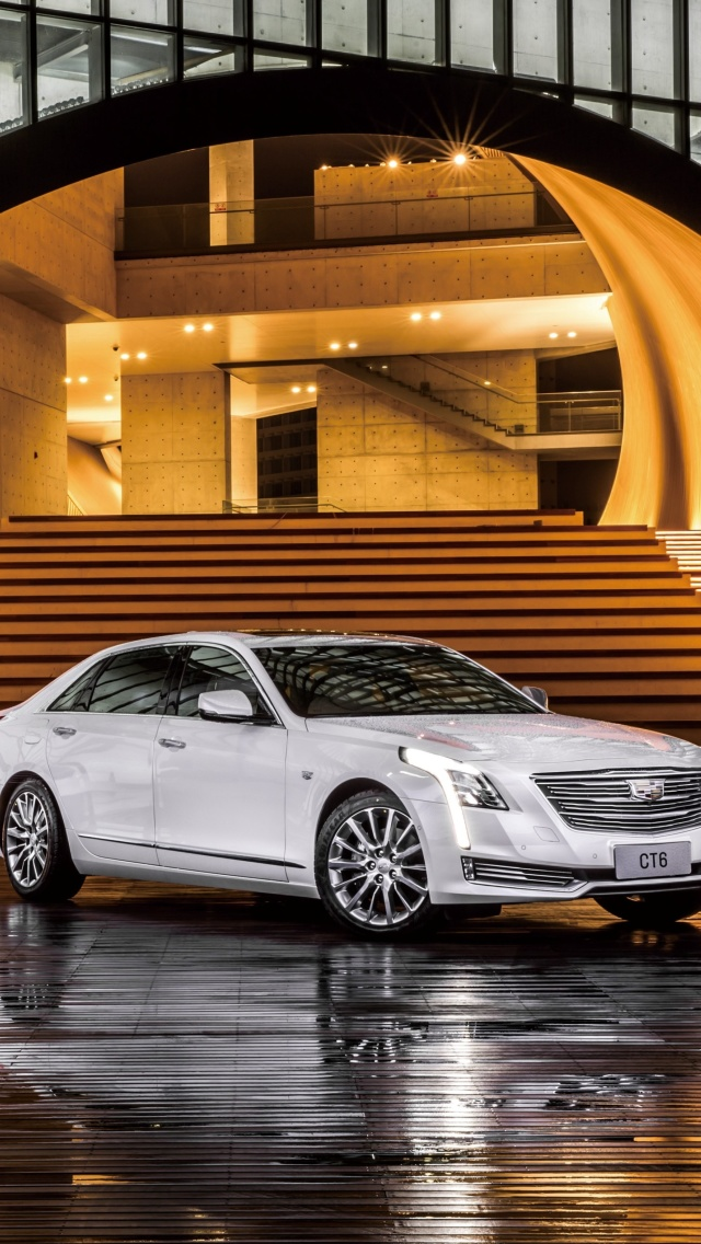 Screenshot №1 pro téma Cadillac CT6 on Auto Show 640x1136