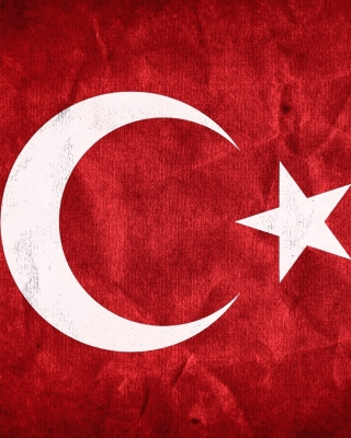 Turkey Flag Wallpaper for 240x320