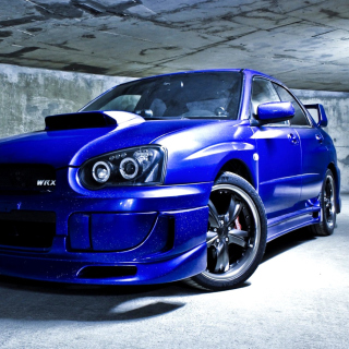 Subaru Impreza WRX Picture for iPad 2