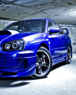Subaru Impreza WRX Wallpaper for iPhone 5S