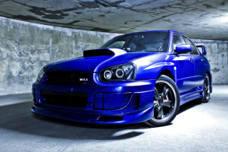 Subaru Impreza WRX Background for Android, iPhone and iPad