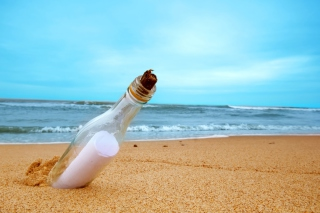 Message In Bottle - Fondos de pantalla gratis