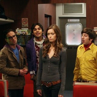 The Big Bang Theory with Bernadette Rostenkowski - Fondos de pantalla gratis para iPad 2