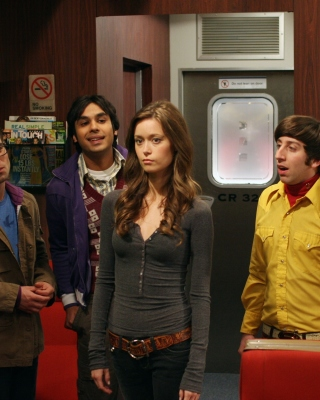 The Big Bang Theory with Bernadette Rostenkowski Picture for Nokia C1-01