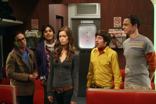 The Big Bang Theory with Bernadette Rostenkowski sfondi gratuiti per Samsung Galaxy S5