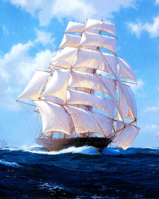 Ships Artwork Steven Dews Picture for iPhone 6 Plus