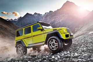 Mercedes Benz G500 4x4 Background for Android, iPhone and iPad