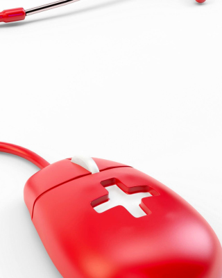 Red Mouse Wallpaper for HTC Titan