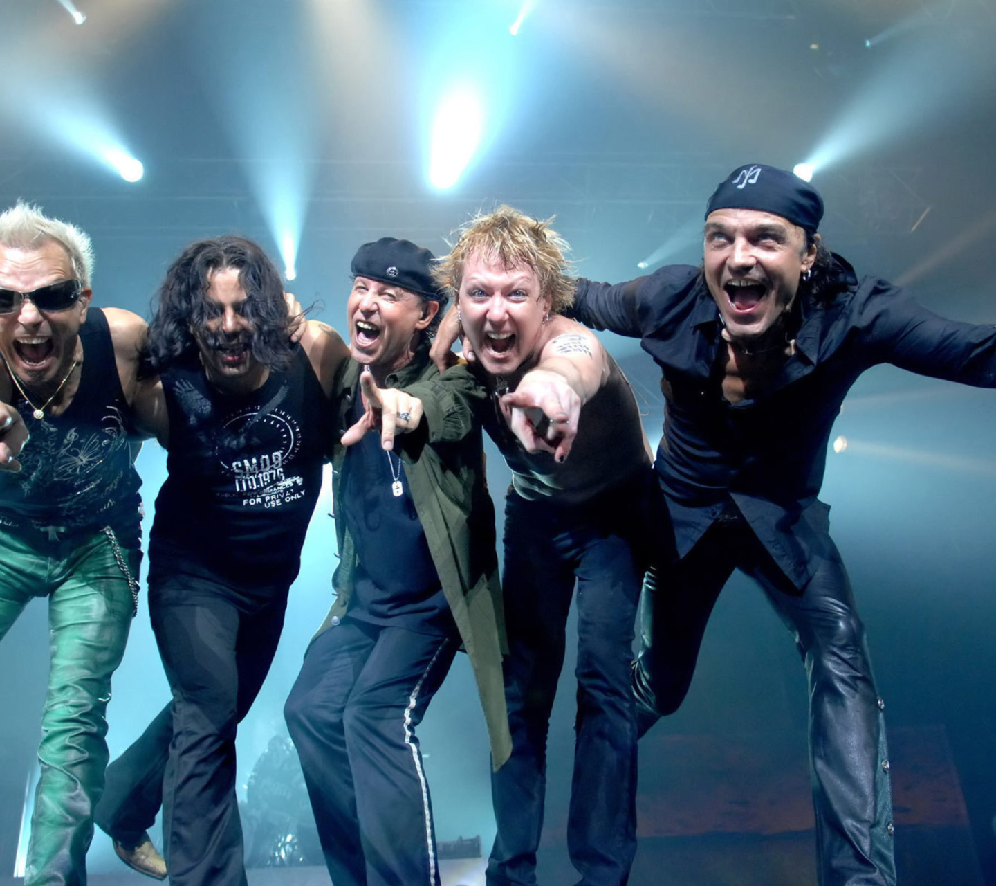 Screenshot №1 pro téma Scorpions Music Band 1440x1280
