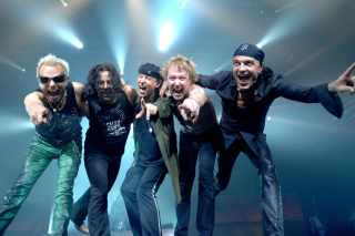 Scorpions Music Band Background for 480x400