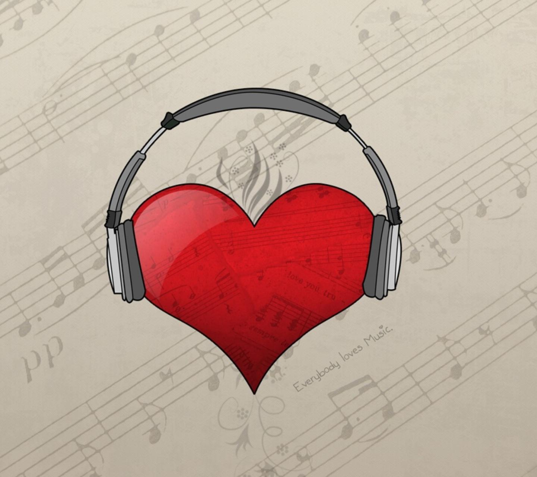 картинка для лд я люблю музыку всегда