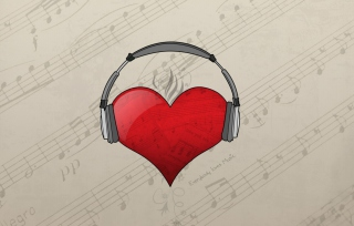 I Love Music sfondi gratuiti per cellulari Android, iPhone, iPad e desktop