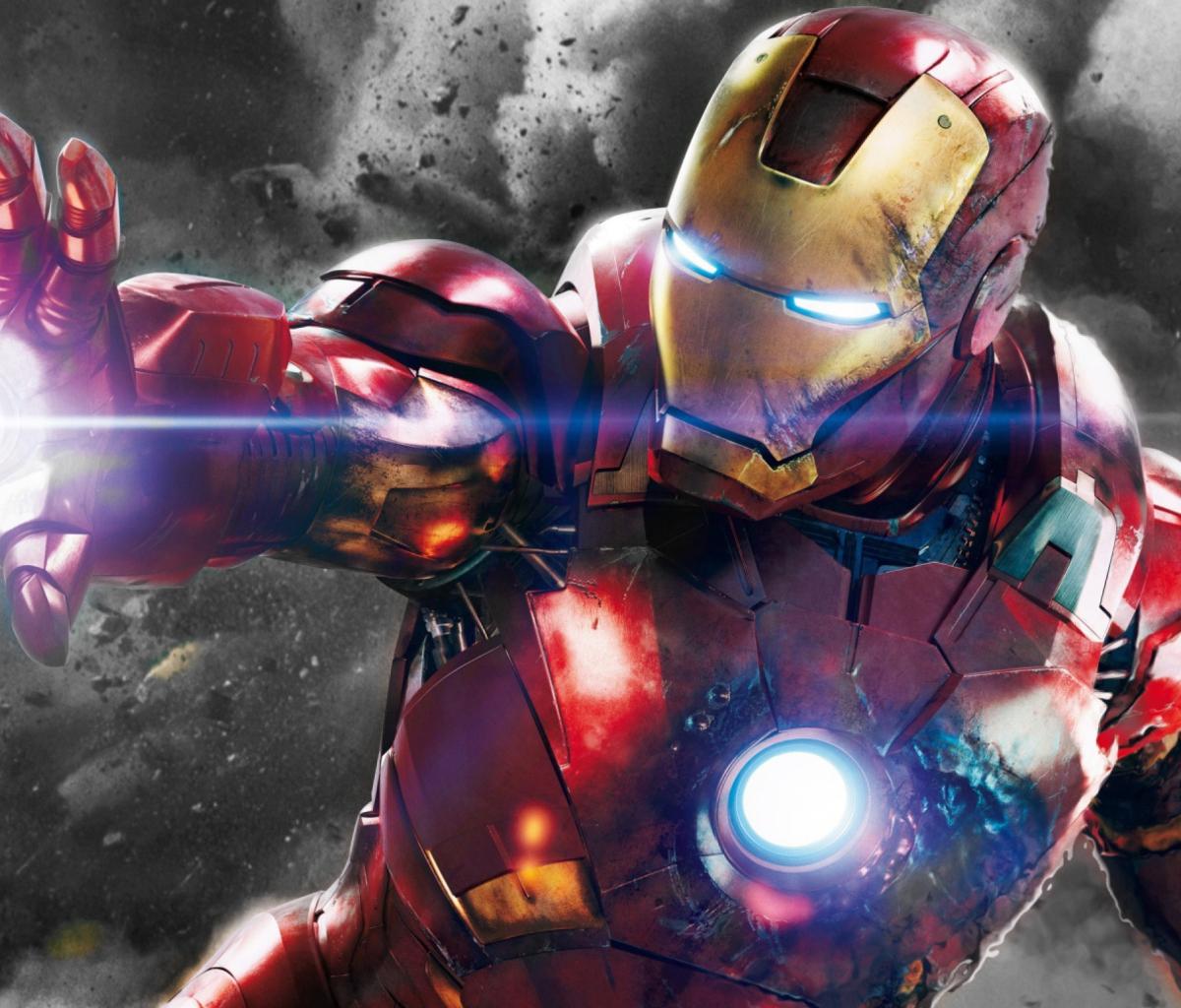 Iron Man - The Avengers 2012 para Blackberry RIM PlayBook LTE