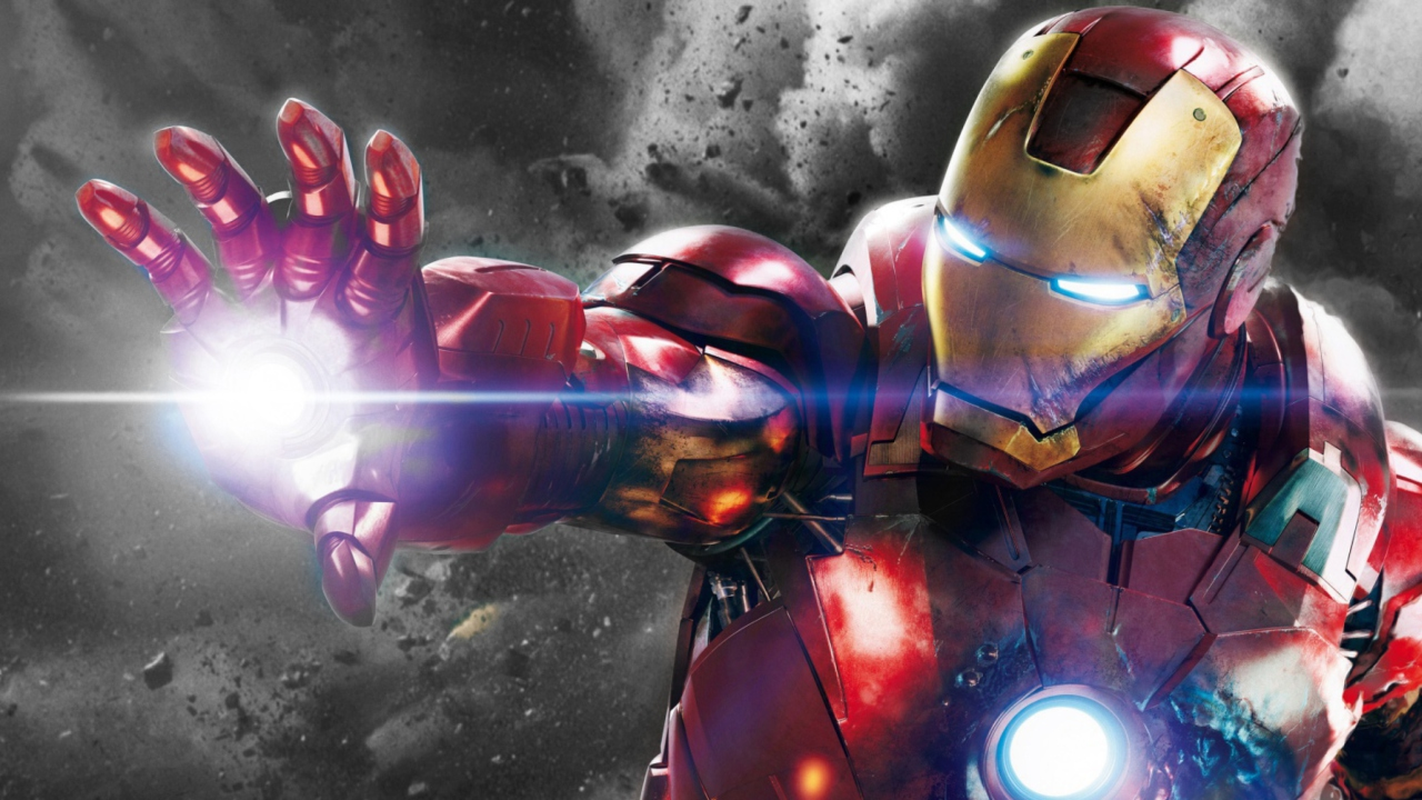 Iron Man - The Avengers 2012 wallpaper 1280x720