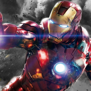 Iron Man - The Avengers 2012 - Fondos de pantalla gratis para iPad Air