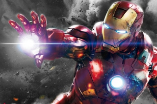 Iron Man - The Avengers 2012 Background for HTC EVO 4G