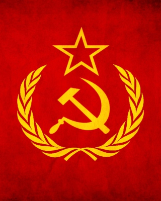 Soviet Union USSR Flag Wallpaper for 176x220