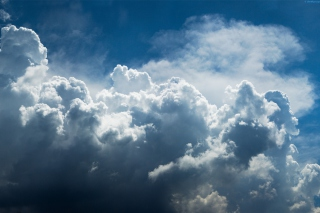 Deep Clouds Background for Android, iPhone and iPad
