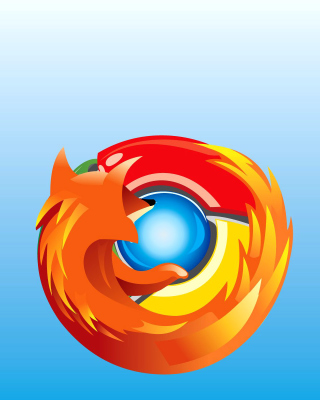 Kostenloses Mozilla Chrome Wallpaper für iPhone 6 Plus